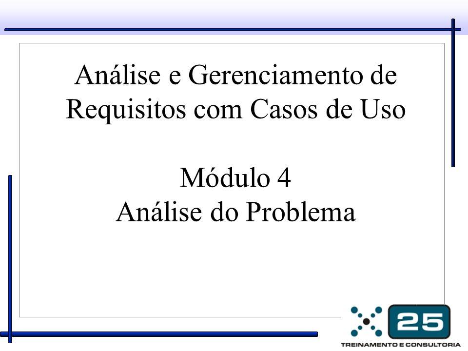 Análise e Gerenciamento de Requisitos com Casos de Uso Módulo 4 Análise do Problema