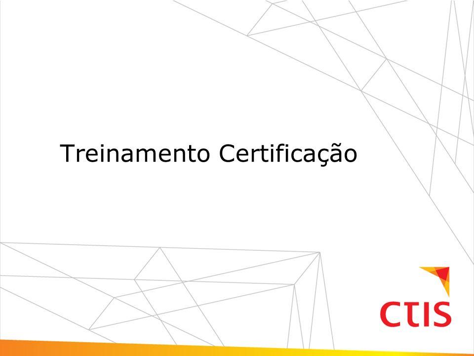 Treinamento Certificação