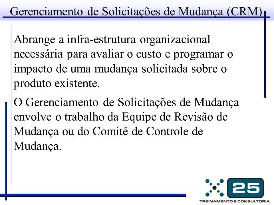 Solicitações de Mudança Mudança Proposta (Originador) Descrição da mudança proposta: Custo estimado para implementar a mudança proposta: