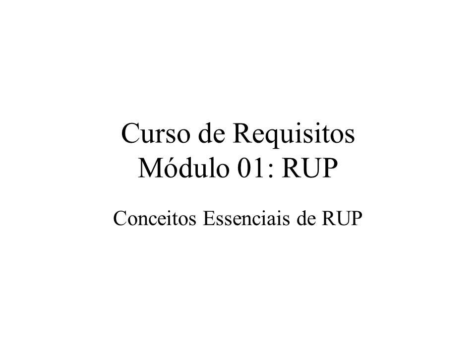 Curso de Requisitos Módulo 01: RUP Conceitos Essenciais de RUP