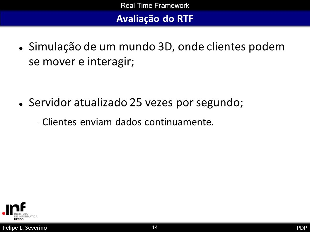 14 Real Time Framework Felipe L.