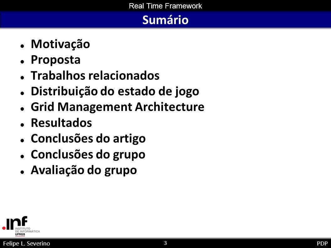 4 Real Time Framework Felipe L.