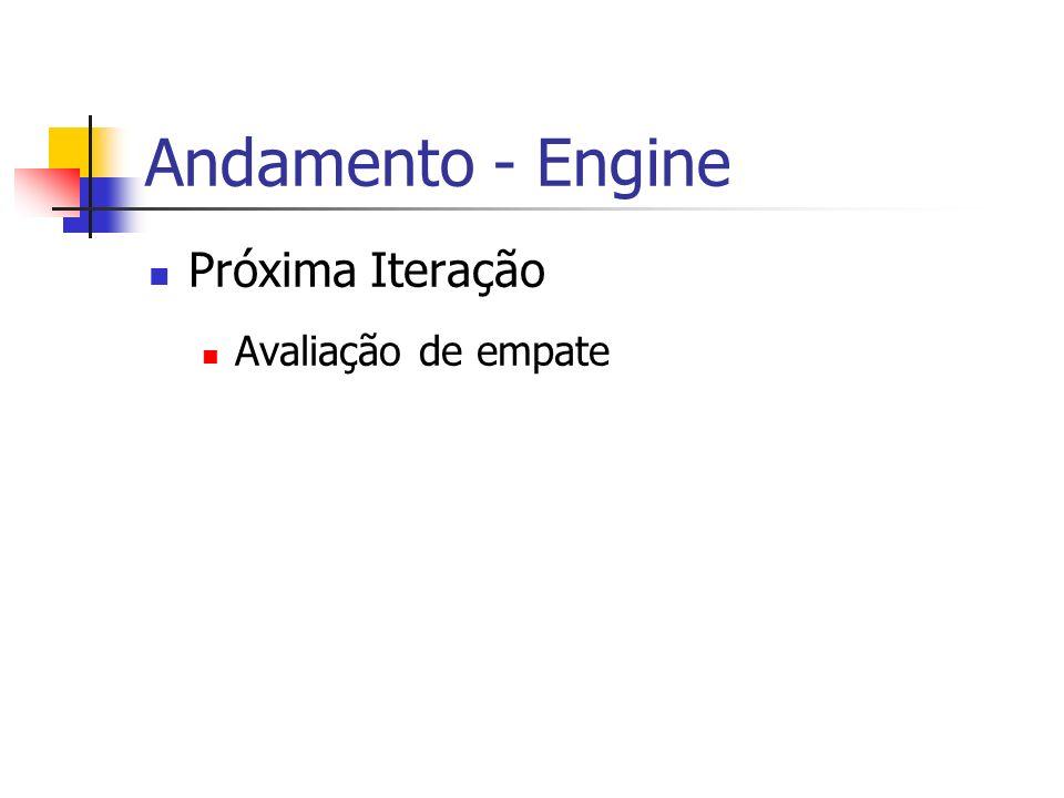 Andamento - Engine Próxima Iteração Avaliação de empate