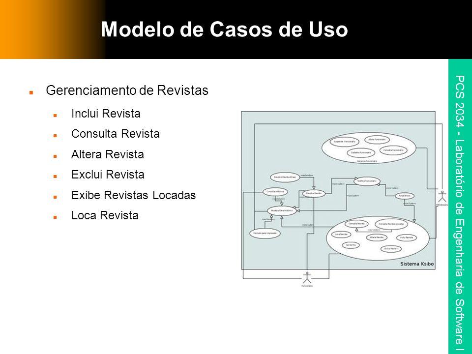 PCS 2034 - Laboratório de Engenharia de Software I Modelo de Casos de Uso 2.4 Altera Funcionário Seqüência de Eventos: 1.
