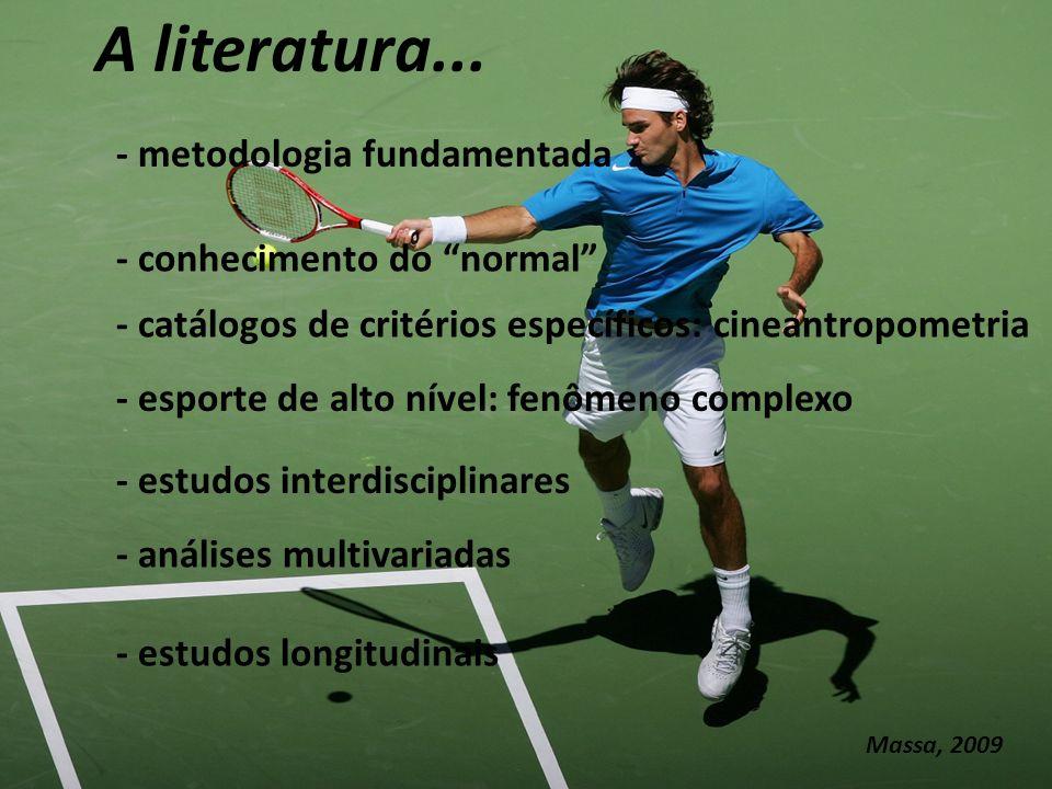 A literatura...