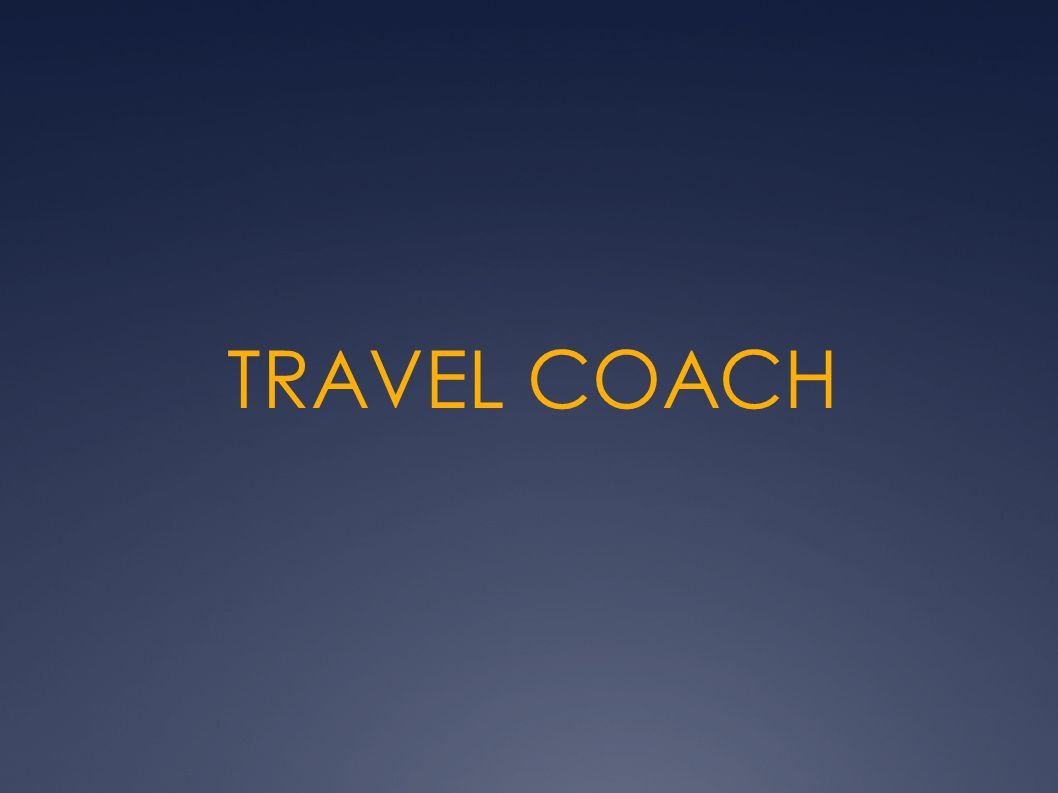 TRAVEL COACH