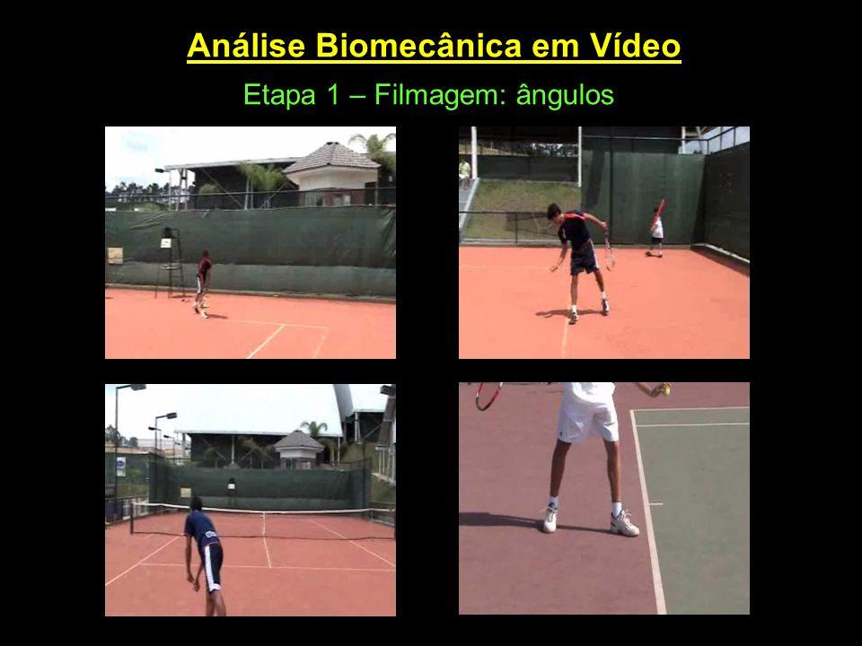 Análise Biomecânica em Vídeo Etapa 1 – Filmagem: ângulos