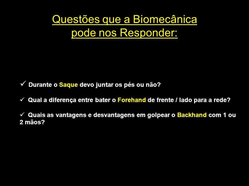 Estrutura Multidisciplinar do Tênis BIOMECÂNICA