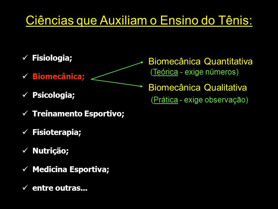Fisiologia; Biomecânica; Psicologia; Treinamento Esportivo; Fisioterapia; Nutrição; Medicina Esportiva; entre outras... Ciências que Auxiliam o Ensino