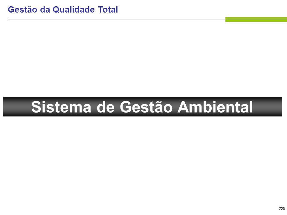 229 Gestão da Qualidade Total Sistema de Gestão Ambiental
