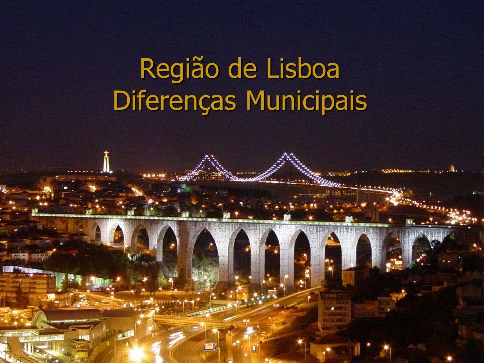 24-04-2014Bene; Francisca; Miguel; Nazaré Região de Lisboa Diferenças Municipais