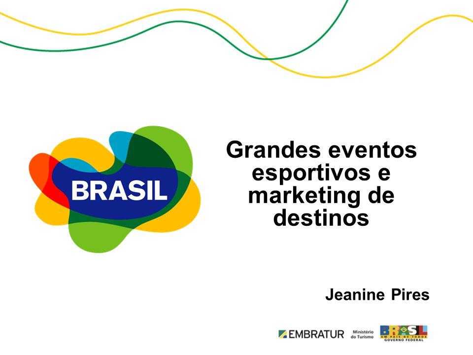 Grandes eventos esportivos e marketing de destinos Jeanine Pires