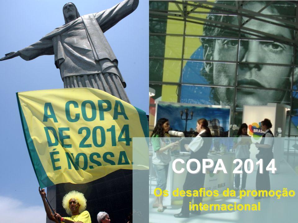 COPA 2014 Os desafios da promoção internacional