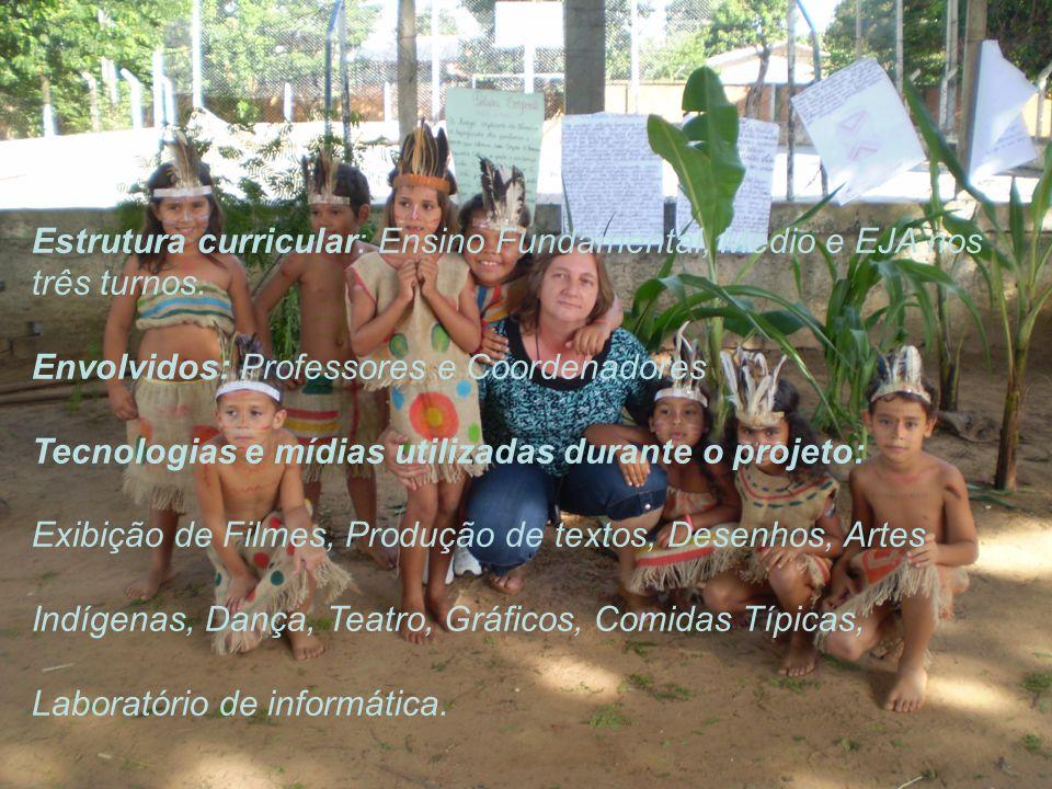Este projeto colaborou para despertar nas crianças, jovens e adolescentes a terem uma nova visão sobre os povos indígenas, que por muito tempo foram rejeitados pela sociedade e ainda são vistos com olhares diferentes.