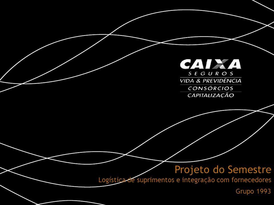 Projeto do Semestre Logística de suprimentos e integração com fornecedores Grupo 1993