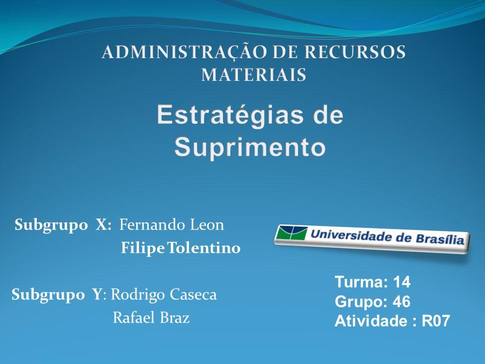Subgrupo X: Fernando Leon Filipe Tolentino Subgrupo Y: Rodrigo Caseca Rafael Braz Turma: 14 Grupo: 46 Atividade : R07