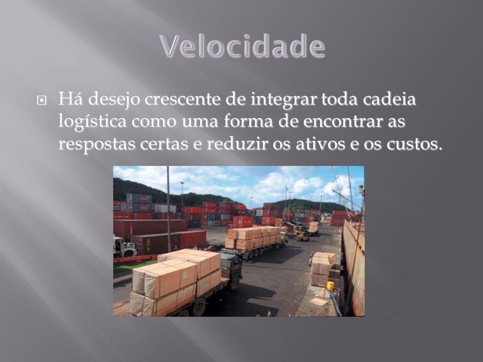 Há desejo crescente de integrar toda cadeia logística como uma forma de encontrar as respostas certas e reduzir os ativos e os custos. Há desejo cresc