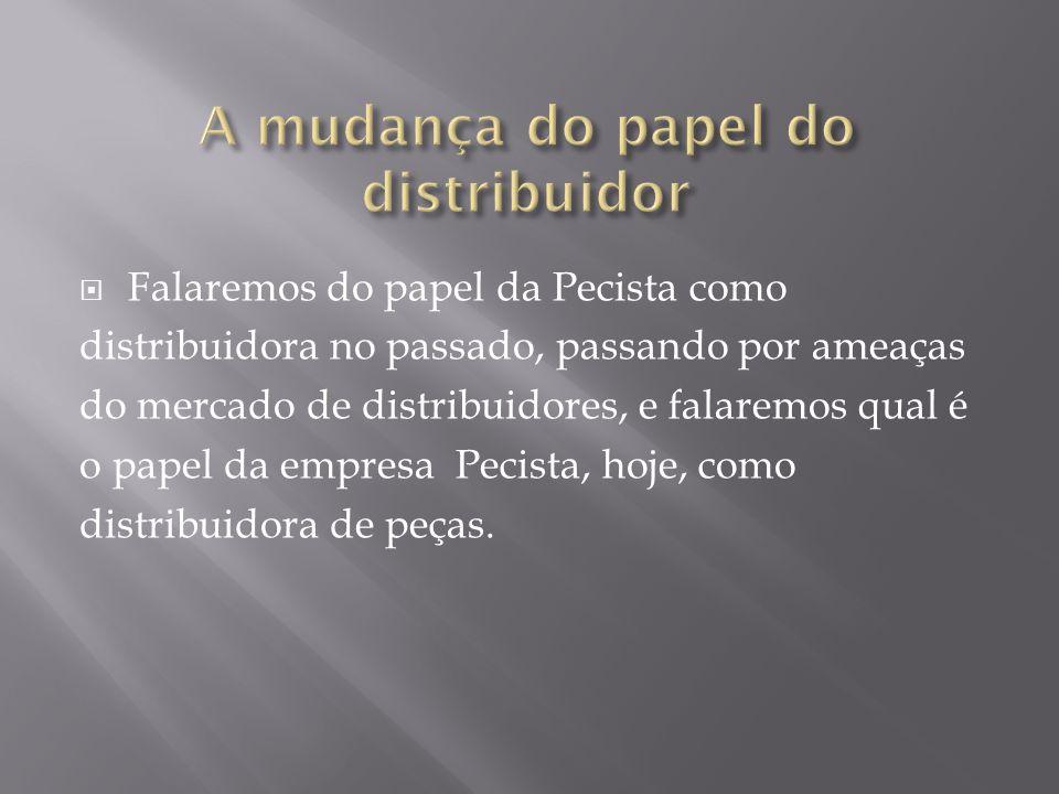 Distribution utility ou associação de recursos Relataremos como é possível a empresa Pecista Ltda.