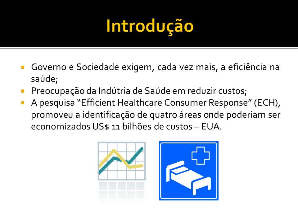 E-commerce: Tecnologia de informação que permite a gestão da cadeia de suprimentos; Área de maior economia: Gerenciamento de Compras; Falta de Vontade em aplicar um sistema automatizado de gestão dos suprimentos.