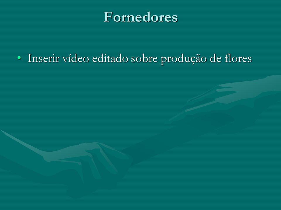 Fornedores Inserir vídeo editado sobre produção de floresInserir vídeo editado sobre produção de flores