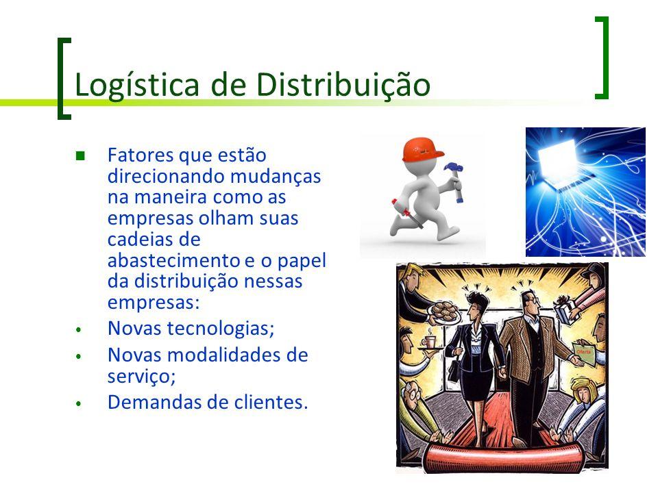Logística de Distribuição Fatores que estão direcionando mudanças na maneira como as empresas olham suas cadeias de abastecimento e o papel da distrib