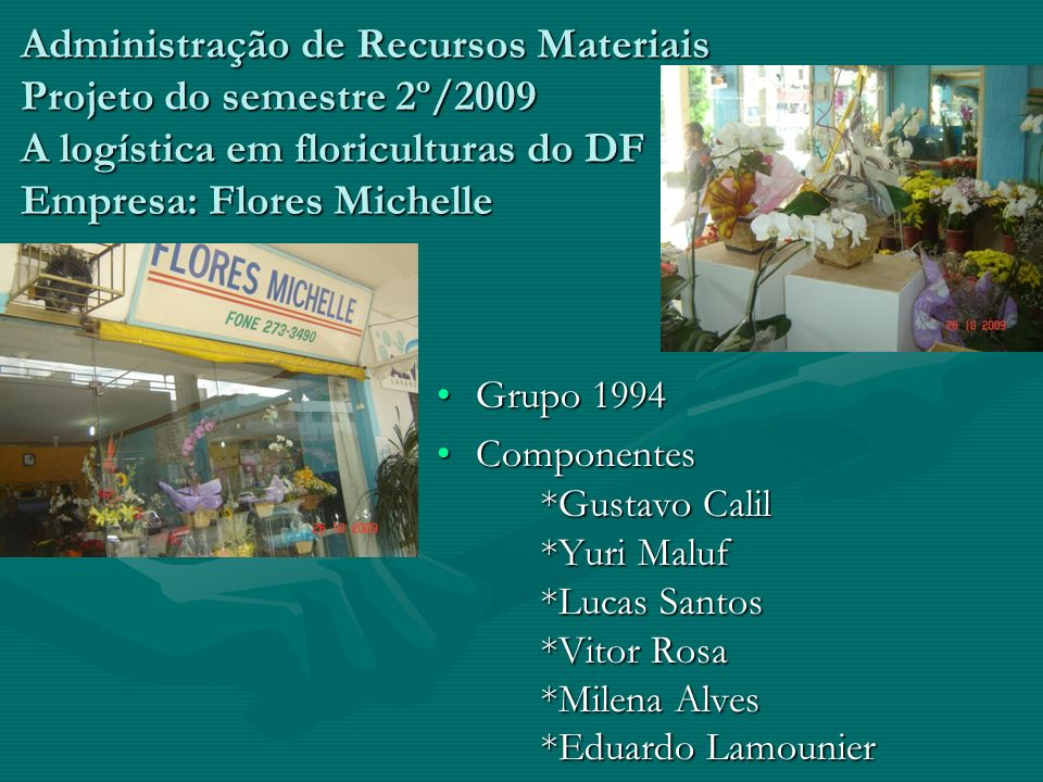 Parte interna do Mercado de Flores
