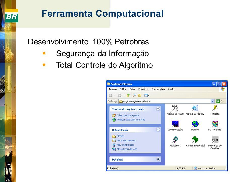 Desenvolvimento 100% Petrobras Segurança da Informação Total Controle do Algoritmo