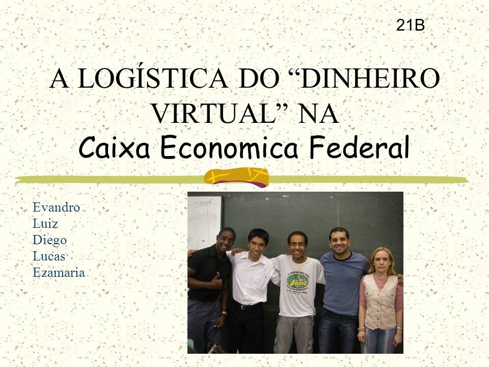A LOGÍSTICA DO DINHEIRO VIRTUAL NA Caixa Economica Federal 21B Evandro Luiz Diego Lucas Ezamaria