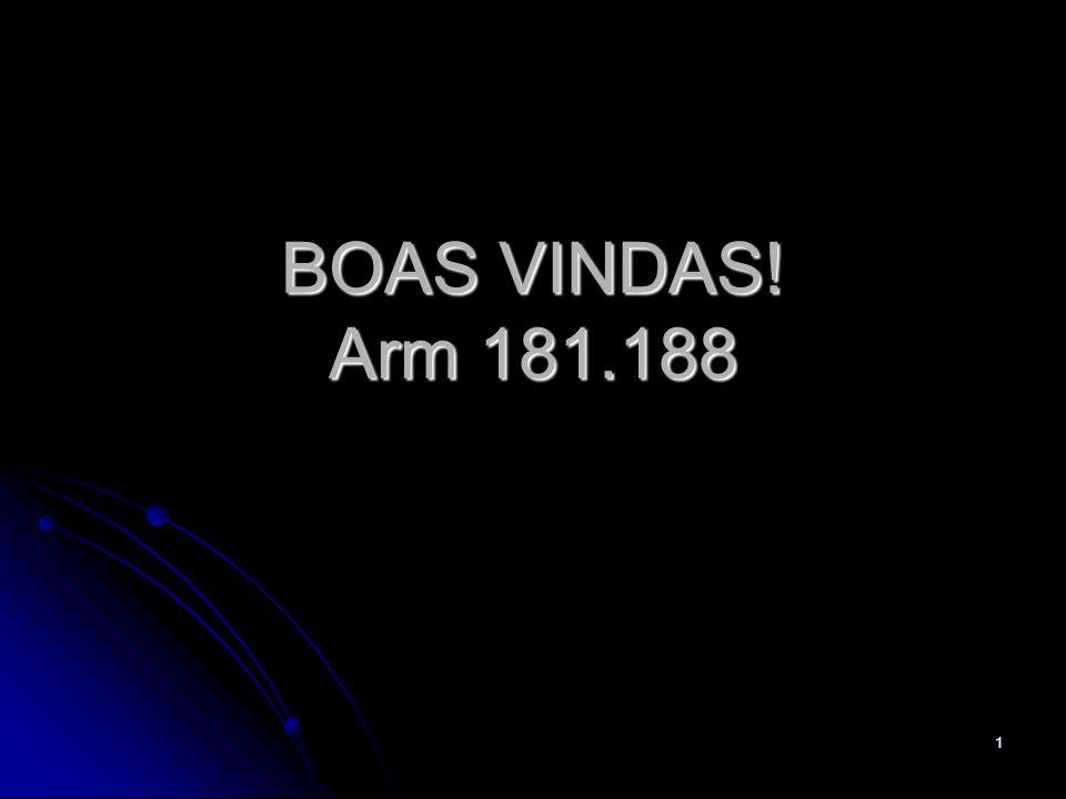 1 BOAS VINDAS! Arm 181.188
