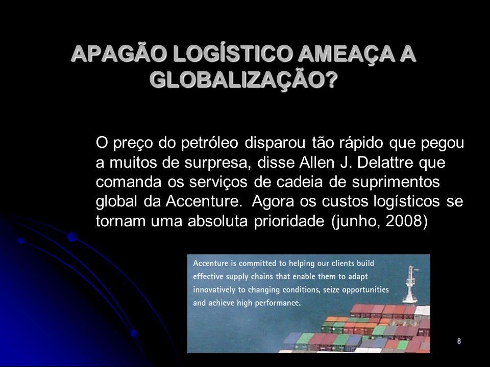 8 APAGÃO LOGÍSTICO AMEAÇA A GLOBALIZAÇÃO.