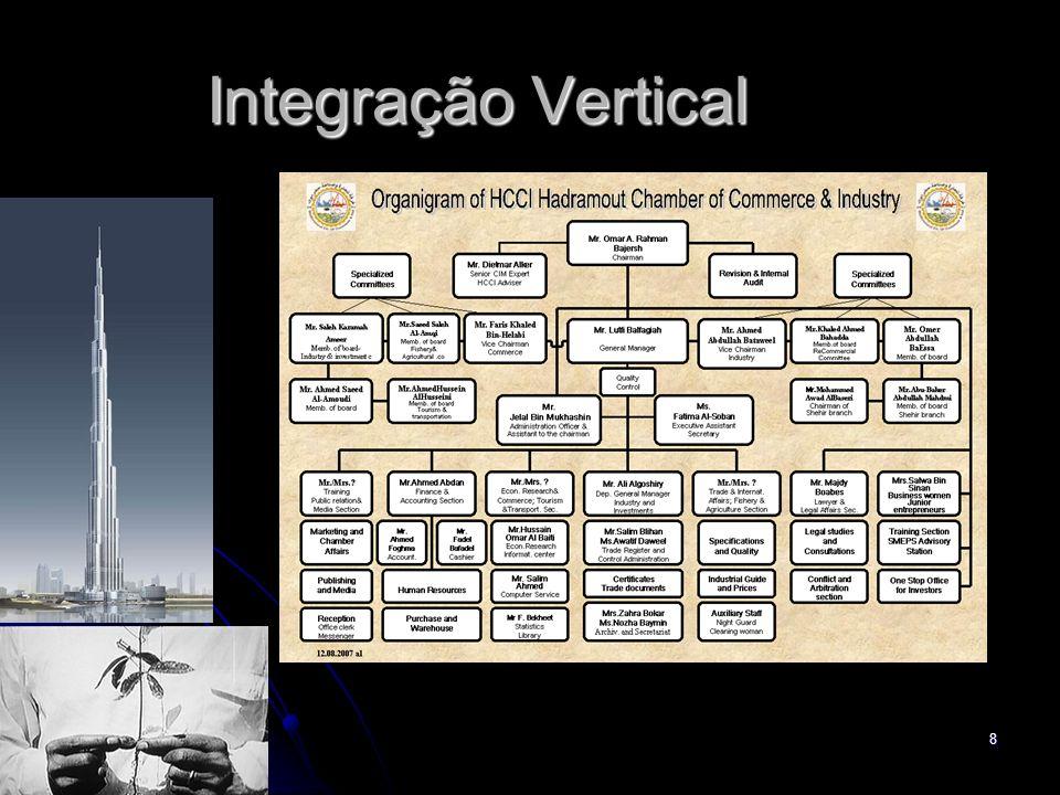 8 Integração Vertical