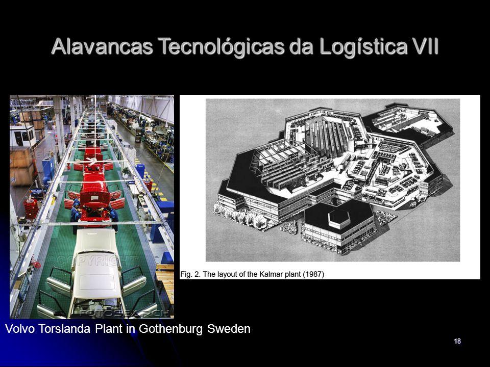 18 Volvo Torslanda Plant in Gothenburg Sweden Alavancas Tecnológicas da Logística VII