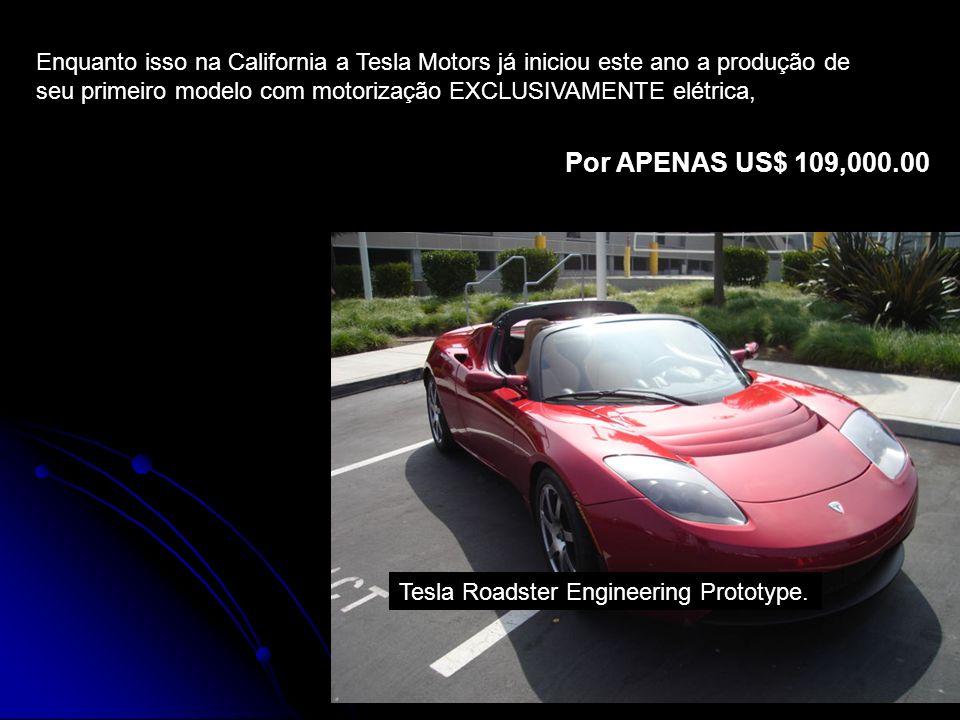 11 Tesla Roadster Engineering Prototype.
