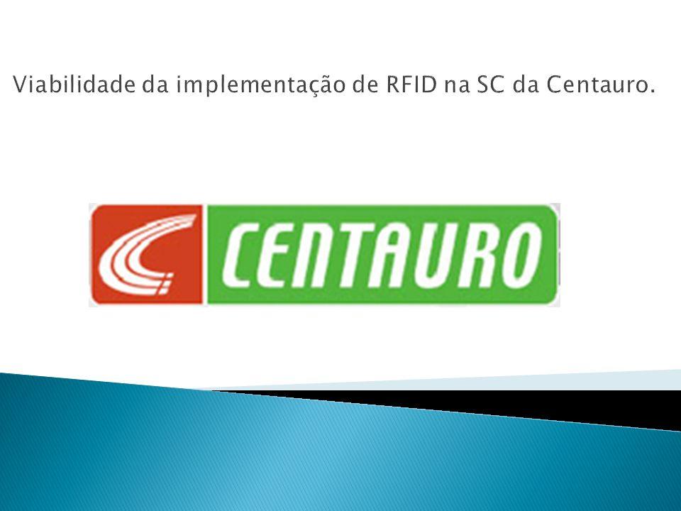 Viabilidade da implementação de RFID na SC da Centauro.