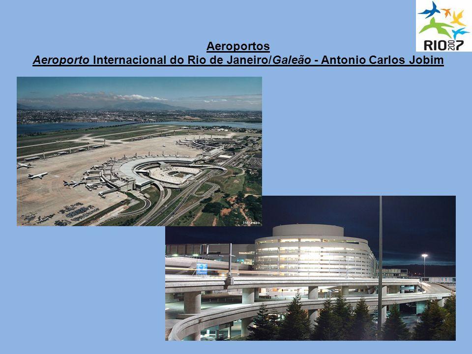 Aeroportos Aeroporto Internacional do Rio de Janeiro/Galeão - Antonio Carlos Jobim