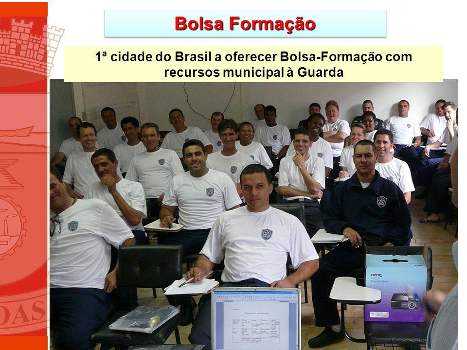 Bolsa Formação 1ª cidade do Brasil a oferecer Bolsa-Formação com recursos municipal à Guarda