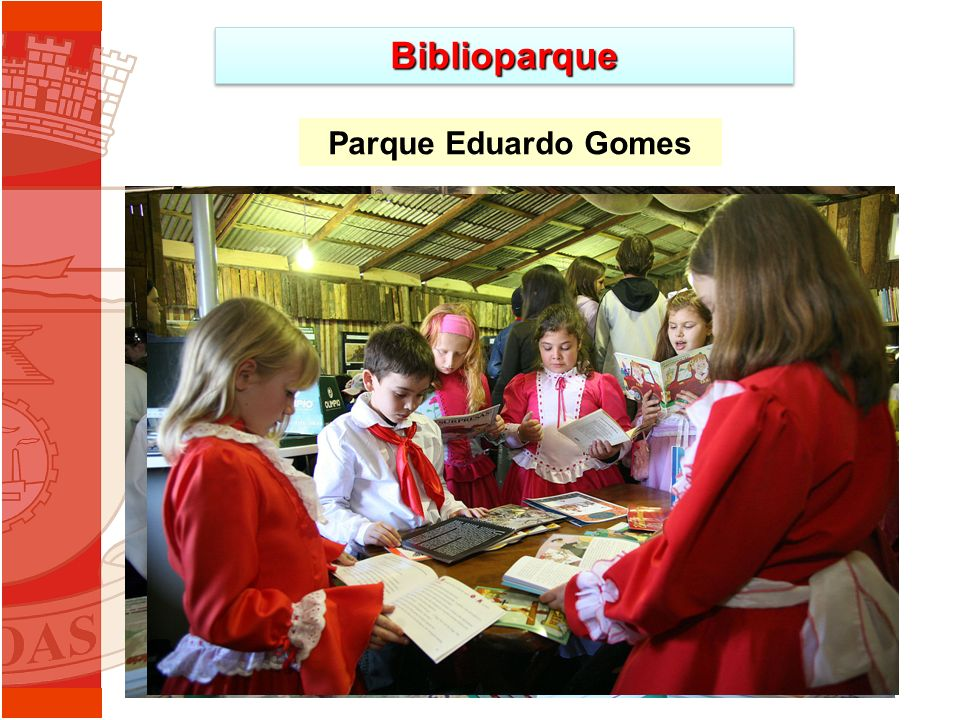 BiblioparqueBiblioparque Parque Eduardo Gomes