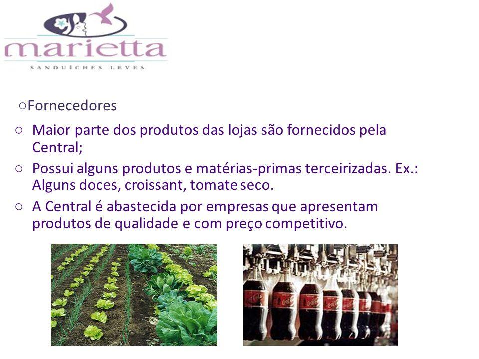 Diferencial da empresa: frutas sempre frescas, sucos feitos na hora, pães preparados na casa e ingredientes de primeira qualidade, além de segurança alimentar e sabor; Produtos de curta validade.