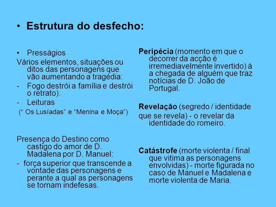 Ananké: Destino que junta Manuel de Sousa e D.Madalena e mantém D.