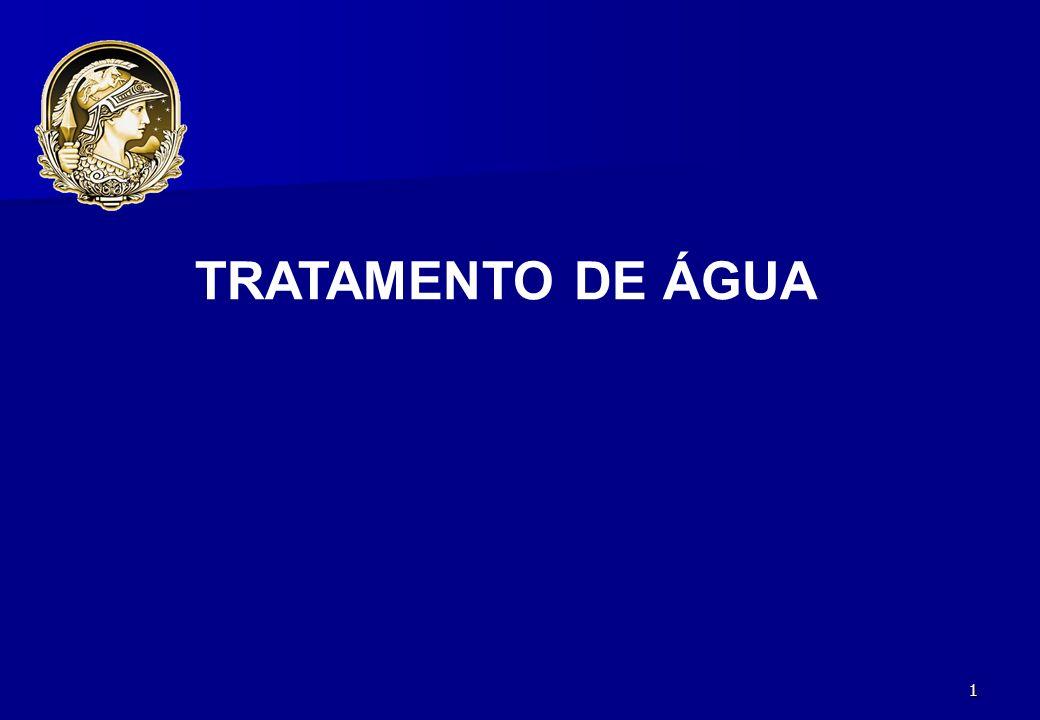 1 TRATAMENTO DE ÁGUA