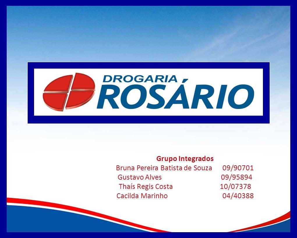 Grupo Integrados Bruna Pereira Batista de Souza 09/90701 Gustavo Alves 09/95894 Thaís Regis Costa 10/07378 Cacilda Marinho 04/40388