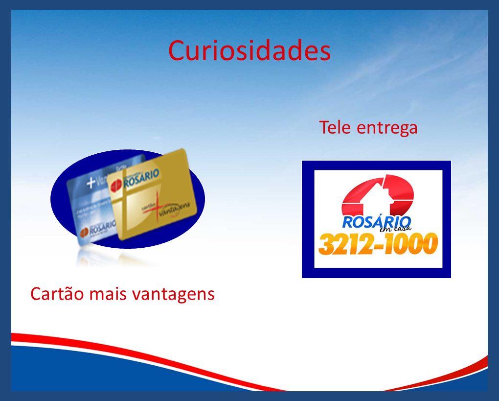 Curiosidades Cartão mais vantagens Tele entrega