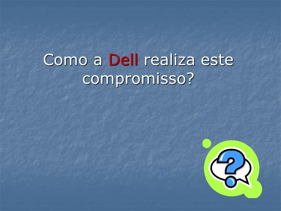 Como a Dell realiza este compromisso?