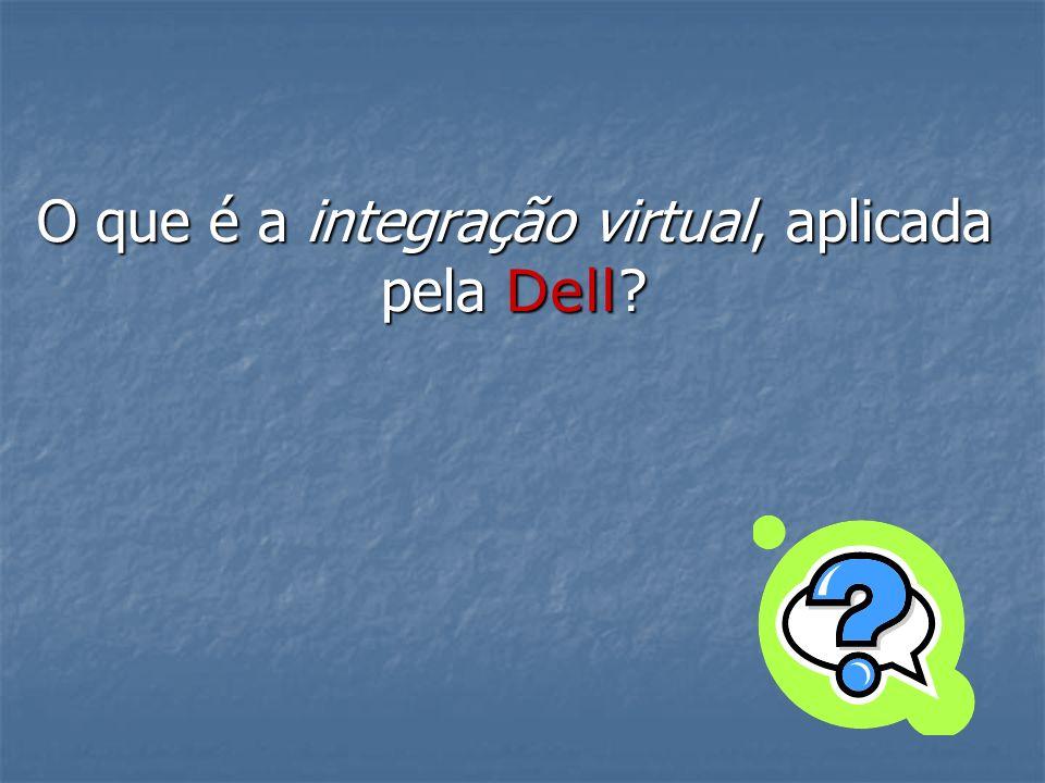 O que é a integração virtual, aplicada pela Dell?
