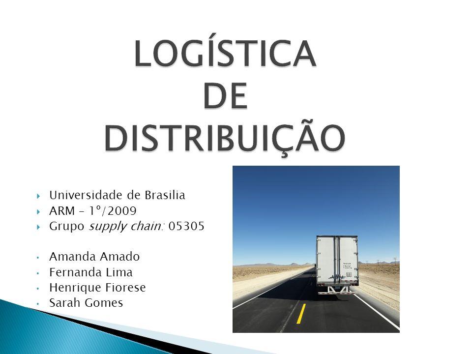 Universidade de Brasilia ARM – 1º/2009 Grupo supply chain: 05305 Amanda Amado Fernanda Lima Henrique Fiorese Sarah Gomes