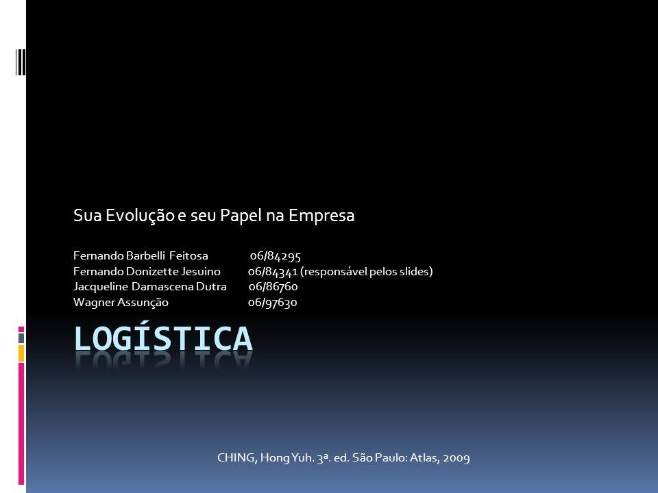 Sua Evolução e seu Papel na Empresa Fernando Barbelli Feitosa 06/84295 Fernando Donizette Jesuino 06/84341 (responsável pelos slides) Jacqueline Damas