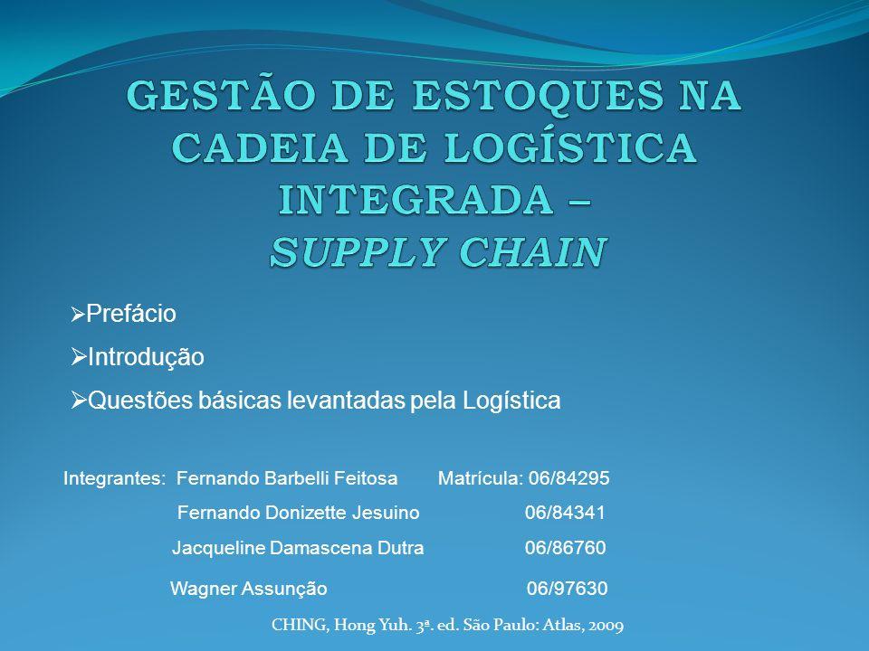 Processo de criação do livro Motivo: suprir carência de mercado do tema supply chain management.