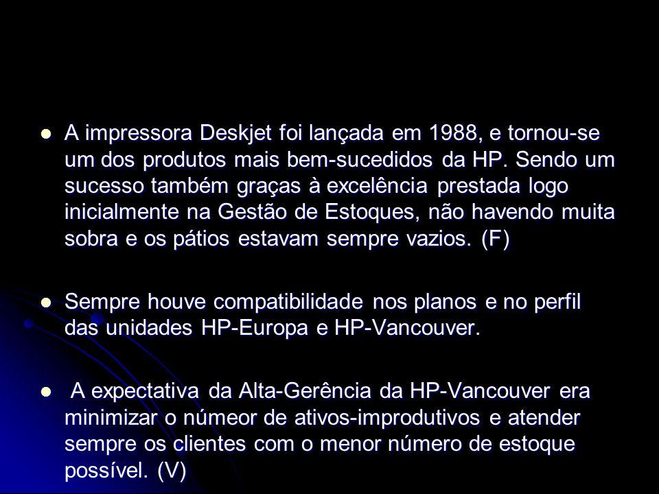 A impressora Deskjet foi lançada em 1988, e tornou-se um dos produtos mais bem-sucedidos da HP. Sendo um sucesso também graças à excelência prestada l