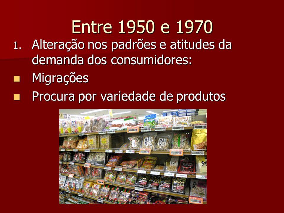 Entre 1950 e 1970 2.