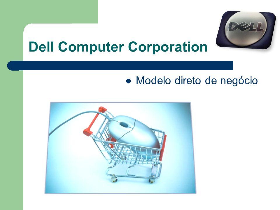 Dell Computer Corporation Modelo direto de negócio